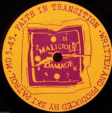 "Ski Patrol - Cut / Faith In Transition 7"" Record - Bill Danforth Collection"