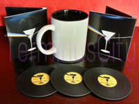 Record Coasters Set - (Set of 4)