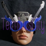 Guitar Shaped Sunglasses - Blue, Red, Green, Pink or Purple