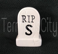 Tombstone Salt and Pepper Shaker Set
