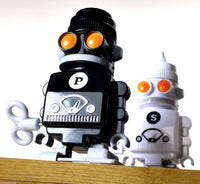 Robot Salt & Pepper Shaker Set