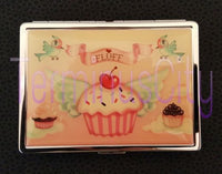 Metal ID Case - Cupcake Heaven