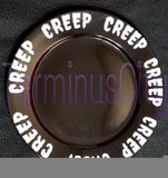 Creep Porcelain Plate