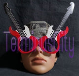 Guitar Shaped Sunglasses - Red