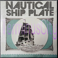 Nautical Ship Porcelain Plate