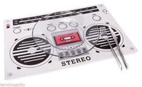 Boombox Placemats - Set of 4