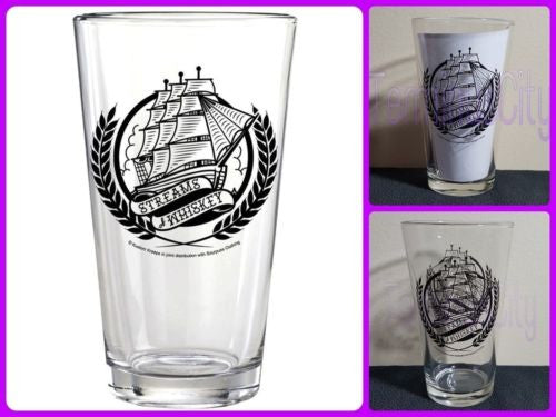 Kustom Kreeps Stream Of Whiskey Pint Glass