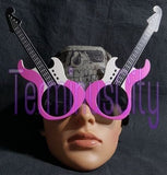 Guitar Shaped Sunglasses - Pink