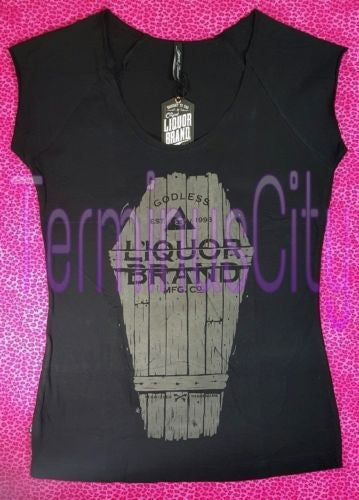 Liquor Brand T-Shirt - Godless
