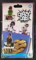 Punk & Crazy Cats Magnetic Bookmarks
