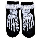 Ruffle Socks - Occult Bones