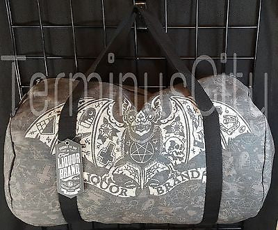 "Bats, Skulls & Tattoos ""TatBat"" Duffle Bag"