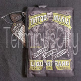 Tattoo Mania Money/Supplies Pouch/Cosmetic Bag