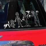 Vampire Car Stickers Horror Set