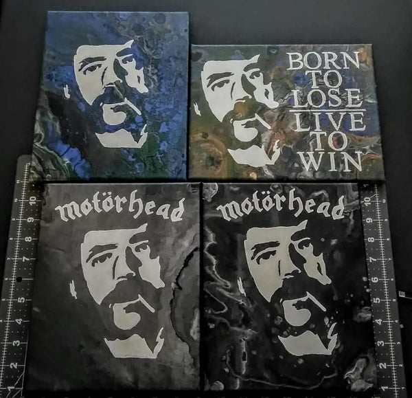 Motorhead Lemmy or Custom Handpainted One-Of-A-Kind Art FREE US SHIPPING