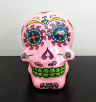 Day Of The Dead Sugar Skulls - Blue, Pink, Purple or Green
