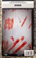 Bloody Hands Horror Shower Curtain
