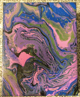 "Handpainted Canvas One-Of-A-Kind 8""x10"" (or Custom Available)"