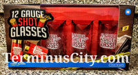 12 Gauge Shotgun Shells Shot Glass Set