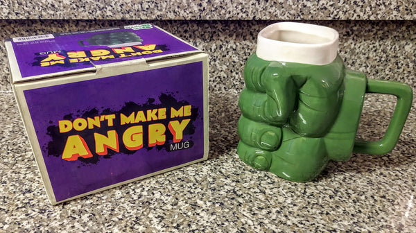 HUGE Don't Make Me Angry Ceramic Coffee 32oz Mug