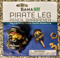 Peg Leg Pirate Pencil Sharpener