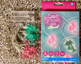 Tropical Flamingo Fairy Battery Operated String Lights