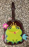 Rare OOP Fluff Luggage Tag - Frog Prince