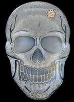 Glass Skull Party Plate