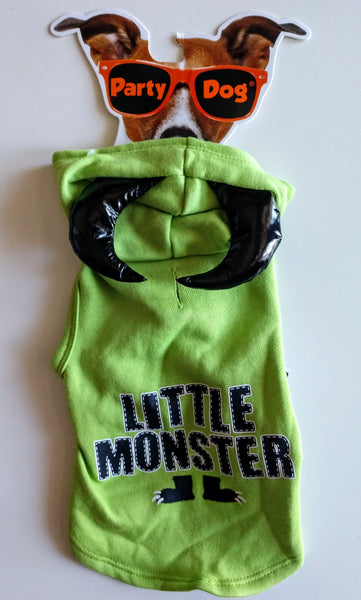 Little Monster Dog Hoodie w/ Horns