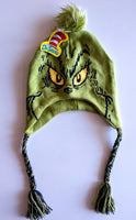 How The Grinch Stole Christmas Peruvian Trapper Knit Hat