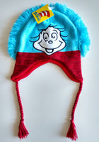 Dr Seuss Peruvian Trapper Knit Hat