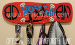 Handmade Official Bill Danforth Line Or Custom Art Key/Leash/Mug/Coat Hangers ☆FREE SHIPPING☆