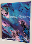 One-Of-A-Kind Beautiful Handpainted Canvas & Resin FREE SHIPPING