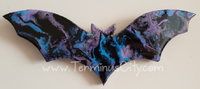 One-Of-A-Kind Bat Beautiful Handmade Handpainted FREE SHIPPING