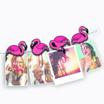 Clip-It Picture Hangers - Flamingos