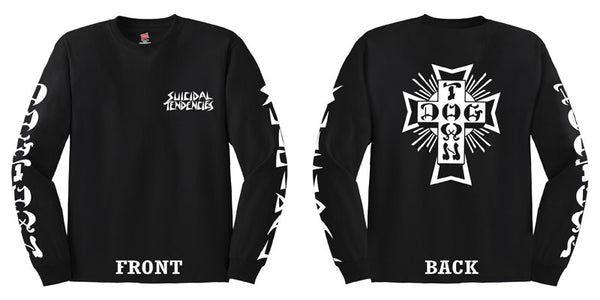 Official Suicidal Tendencies - DogTown Long Sleeve Shirt *FREE SHIPPING*