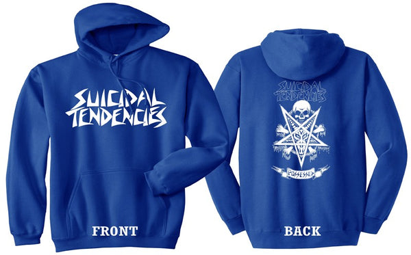 Official Suicidal Tendencies - Possessed To Skate Hoodie *FREE SHIPPING*