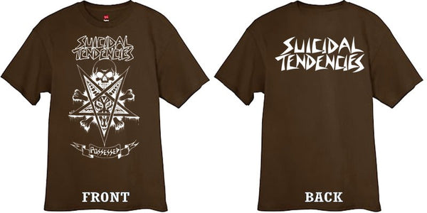 Official Suicidal Tendencies - Possessed To Skate T-Shirt *FREE SHIPPING*