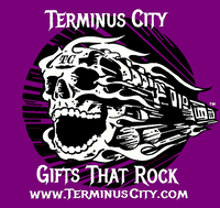 Terminus City Gifts That Rock T-Shirts, VNecks & Spaghetti Strap/Cami's in Black or Purple
