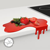 Blood / Paint Splatter Splash Cutting Board