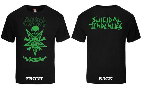 Official Suicidal Tendencies - 80s Possessed To Skate T-Shirt *FREE SHIPPING*