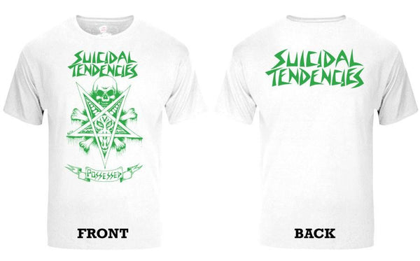 Official Suicidal Tendencies - 80's Possessed To Skate T-Shirt *FREE SHIPPING*