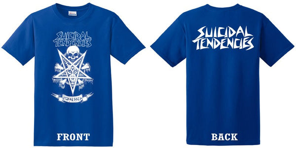 Official Suicidal Tendnecies - Possessed To Skate T-Shirt *FREE SHIPPING*