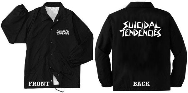 Official Suicidal Tendencies - Windbreaker SxTx Logo *FREE SHIPPING*