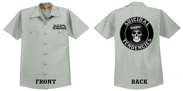 Official Suicidal Tendencies - California Work Shirt *FREE SHIPPING*