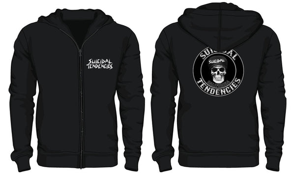 Official Suicidal Tendencies - California Zip Up Hoodie *FREE SHIPPING*
