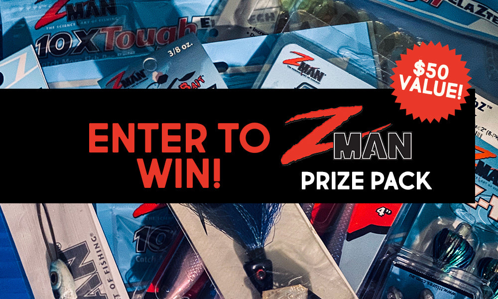 Zman tackle prize giveaway enter to win