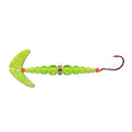 Mack's Lure Wedding Ring Pro Spinner with Smile Blade #4 / Chartreuse Sparkle/Flo Chartreuse Hard Baits