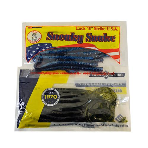Luck-E-Strike American Original Sneaky Snake 2 Piece Assortment Sets & Bundles