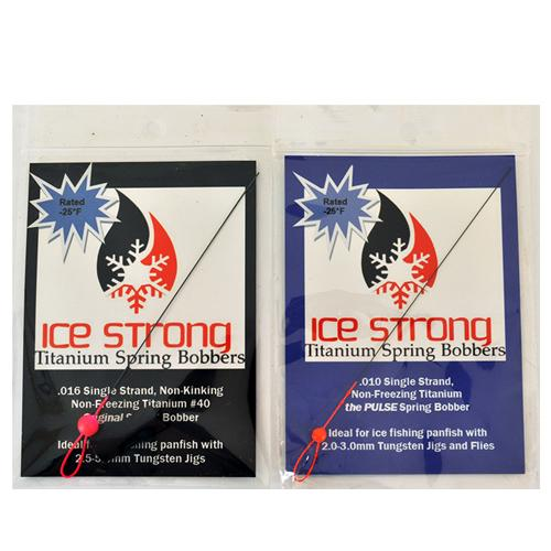 Ice Strong Titanium Spring Bobber 2 Piece Assortment Sets & Bundles